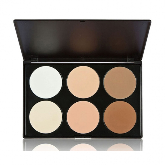 Private Label Gesicht Make-up Puder Kontur Palette Kit